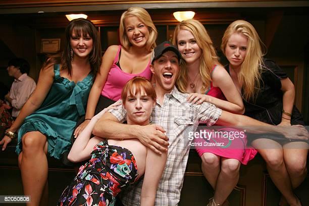 Rachel Potter Lauren Zakrin Celina Carvajal Lindsey Ridgeway Paul Canaan and Emma Zacks attends Bailey Hanks takes her first bow as Elle Woods In...
