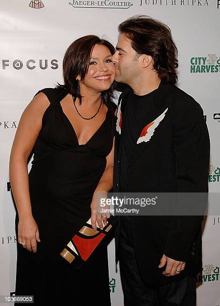 Rachel Ray and John Cusimano attend FOCUS An Evening of Photography to benefit City Harvest at Skylight Studios on September 18 2008 in New York City