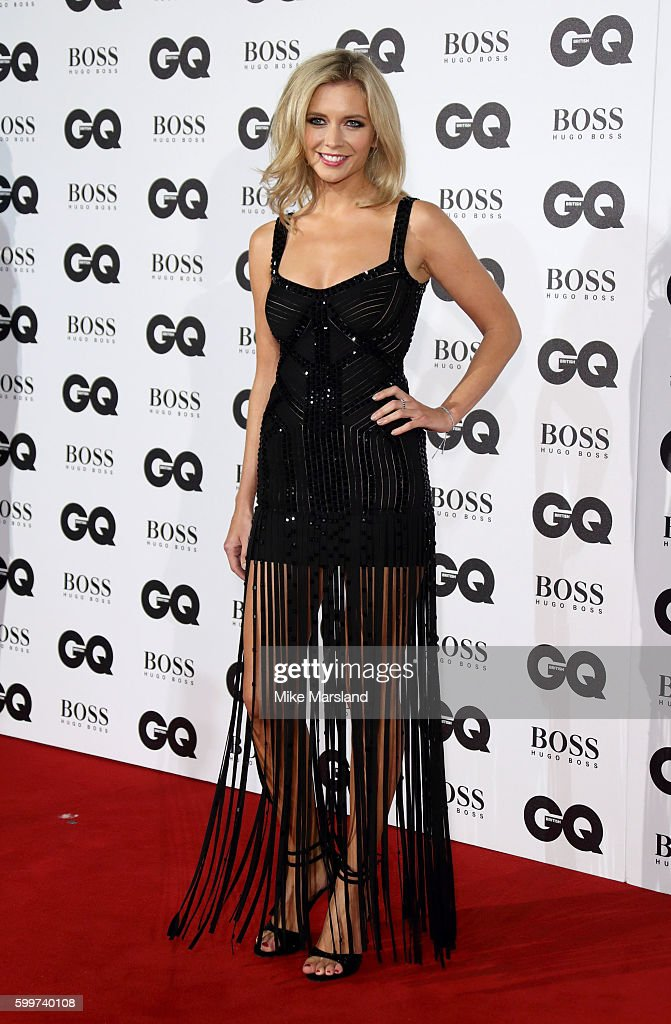 Rachel Riley arrives for GQ Men Of The Year Awards 2016 at Tate Modern on September 6, 2016 in London, England.