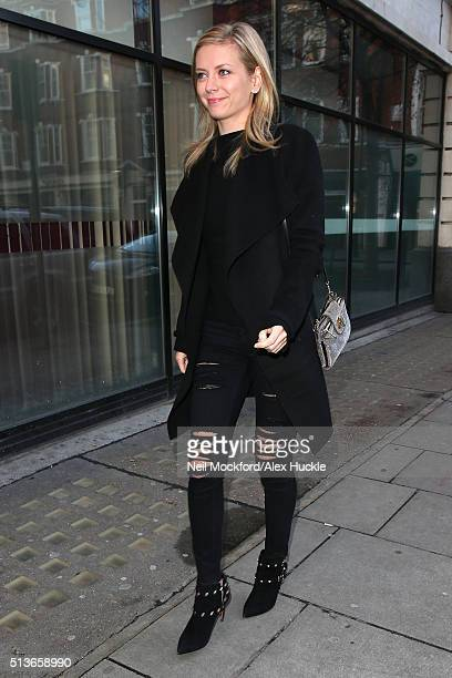 Rachel Riley at BBC Radio 2 on March 4 2016 in London England
