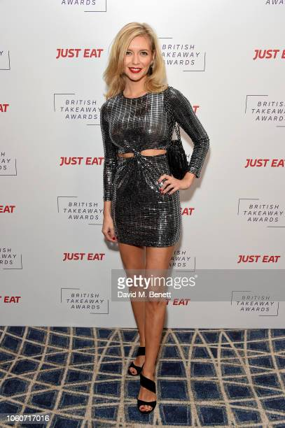Rachel Riley at the British Takeaway Awards 2018 in association with Just Eat at The Savoy Hotel on November 12 2018 in London England The awards...