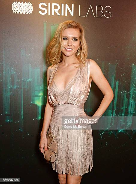 Rachel Riley attends as SIRIN LABS Launches SOLARIN at One Marylebone on May 31 2016 in London England