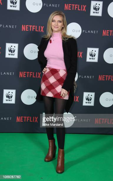 Rachel Riley attends Netflixs Our Planet announcement at WWFs State of the Planet Address at Westminster Hall on November 8 2018 in London England