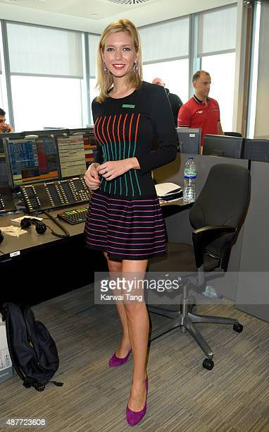 Rachel Riley attends the annual BGC Global Charity Day at BGC Partners on September 11 2015 in London England