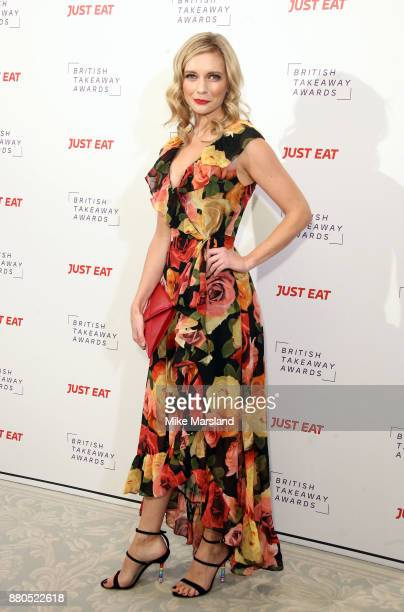 Rachel Riley attends The British Takeaway Awards at The Savoy Hotel on November 27 2017 in London England