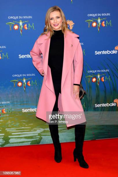 Rachel Riley attends the Cirque du Soleil Premiere Of TOTEM at Royal Albert Hall on January 16 2019 in London England