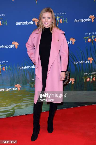 Rachel Riley attends the Cirque du Soleil Premiere Of TOTEM at the Royal Albert Hall on January 16 2019 in London England