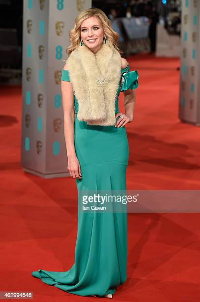 Rachel Riley attends the EE British Academy Film Awards at The Royal Opera House on February 8 2015 in London England
