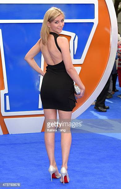Rachel Riley attends the European premiere of Tomorrowland A World Beyond at Odeon Leicester Square on May 17 2015 in London England