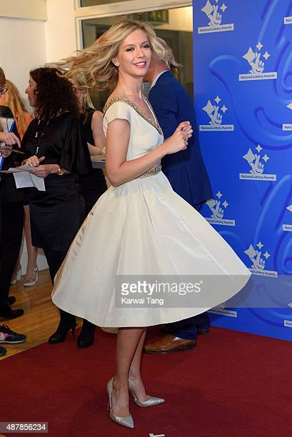Rachel Riley attends the National Lottery Awards at The London Television Centre on September 11 2015 in London England