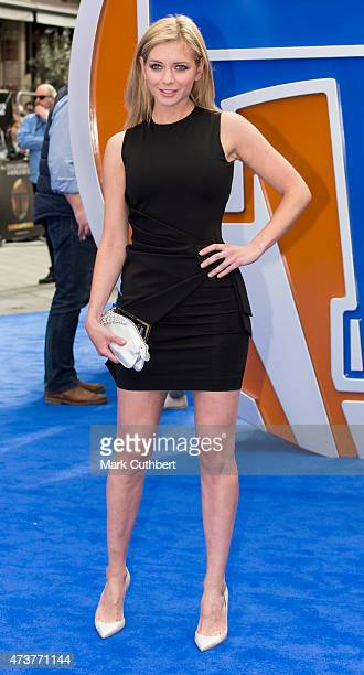 Rachel Riley attends the premiere of Tomorrowland at Odeon Leicester Square on May 17 2015 in London England