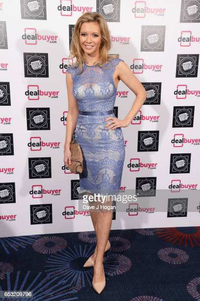 Rachel Riley attends the TRIC Awards 2017 at The Grosvenor House Hotel on March 14 2017 in London England