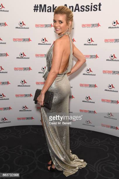 Rachel Riley attends the World Aids Day Charity Gala aimed at using football to educate and inspire vulnerable young people in developing countries...
