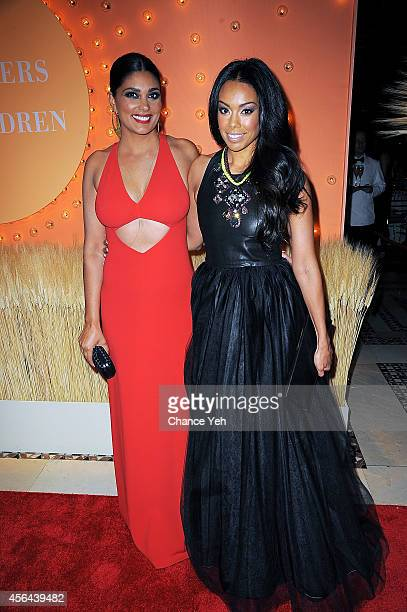 Rachel Roy and Brandi Garnett attend 15th Annual New Yorkers For Children Gala at Cipriani 42nd Street on September 30 2014 in New York City