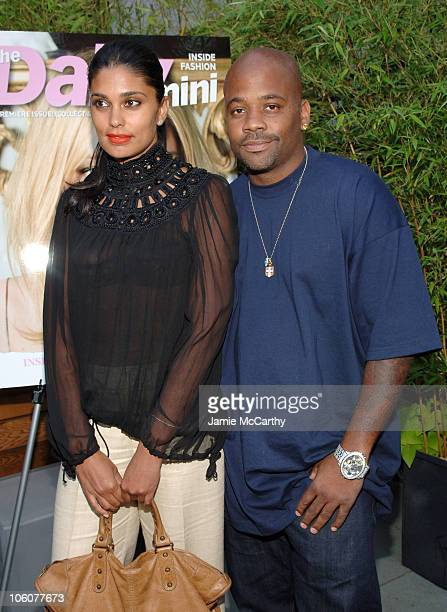 Rachel Roy and Damon Dash during Fashion Fete To Celebrate The Launch of The Daily Mini at The Garden of Ono in New York City New York United States
