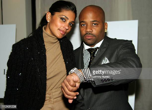 Rachel Roy and Damon Dash during GQ Magazine Celebrates BVLGARI's New Ergon Watch with The Men Who Embody New York Spirit and Style at Table 50 in...