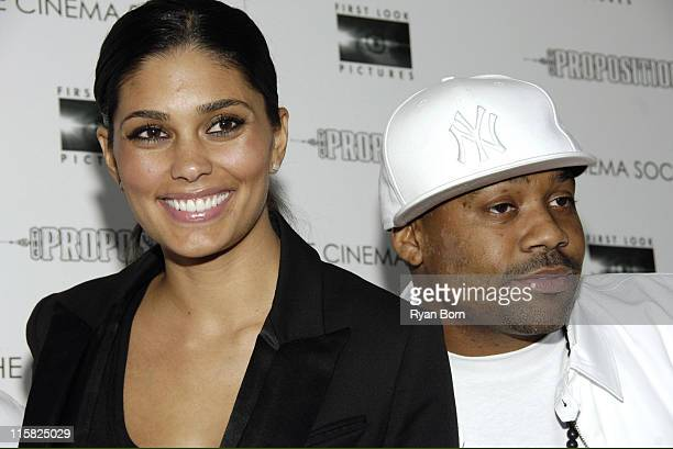 Rachel Roy and Damon Dash during The Cinema Society Presents the New York Premiere of First Look Pictures' The Proposition Arrivals at IFC Center in...