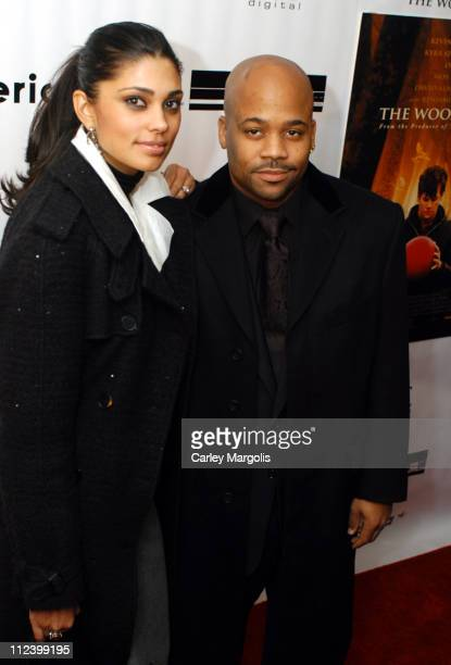 """Rachel Roy and Damon Dash, executive producer during """"The Woodsman"""" New York City Premiere at The Skirball Center in New York City, New York, United..."""
