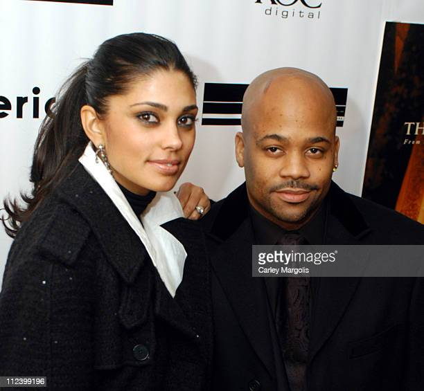 Rachel Roy and Damon Dash executive producer during The Woodsman New York City Premiere at The Skirball Center in New York City New York United States