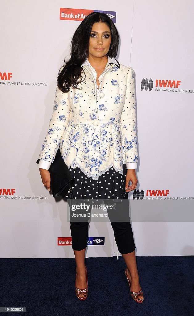 Rachel Roy arrives at the International Women's Media Foundation Courage Awards at the Beverly Wilshire Four Seasons Hotel on October 27, 2015 in Beverly Hills, California.