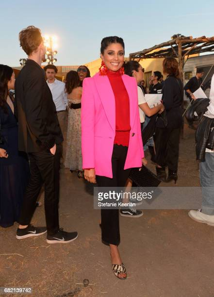 Rachel Roy at Christian Dior Cruise 2018 Show and After Party at Gladstone's Malibu on May 11 2017 in Malibu California