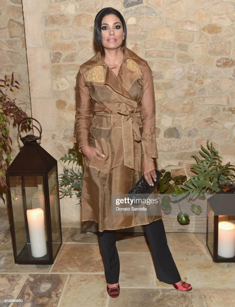 Rachel Roy attends Learning Lab Ventures Gala in Partnership with NET-A-PORTER on January 25, 2018 in Beverly Hills, California.