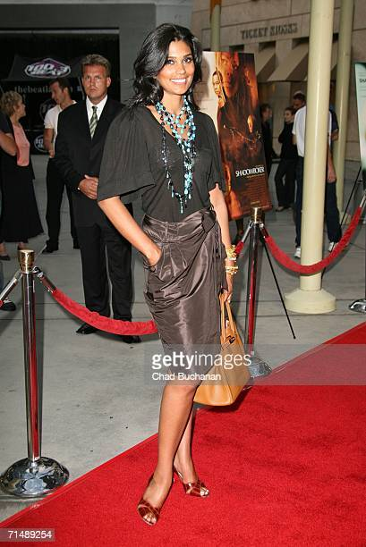 Rachel Roy attends the Los Angeles Premiere of Shadowboxer on July 19 2006 in Los Angeles California