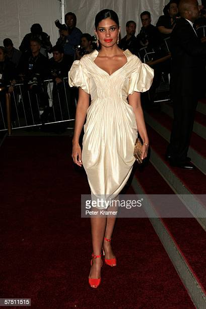 Rachel Roy attends the Metropolitan Museum of Art Costume Institute Benefit Gala Anglomania at the Metropolitan Museum of Art May 1 2006 in New York...