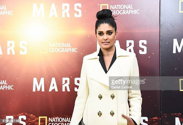 Rachel Roy attends the National Geographic Channel 'MARS' New York Premiere at the School of Visual Arts on October 26 2016 in New York City