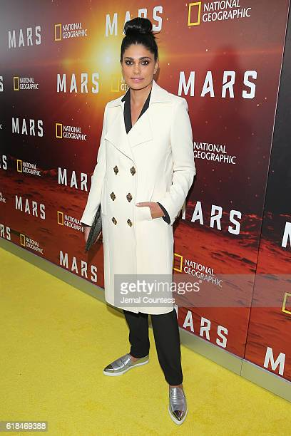 Rachel Roy attends the National Geographic Channel MARS Premiere NYC on October 26 2016 in New York City