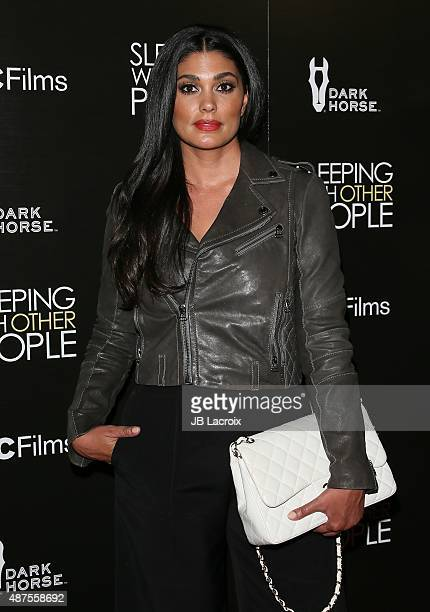 Rachel Roy attends the premiere of IFC Films' 'Sleeping with other people' held at ArcLight Cinemas on September 9 2015 in Hollywood California