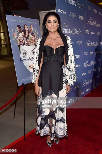 Rachel Roy attends the premiere of IFC Films' 'The Female Brain' at ArcLight Hollywood on February 1 2018 in Hollywood California