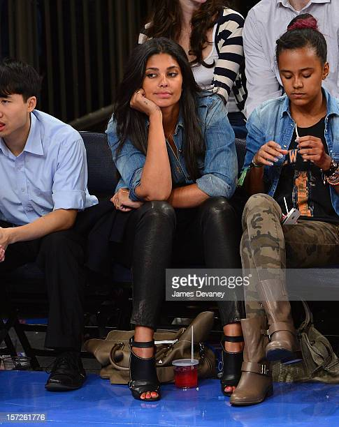 Rachel Roy attends the Washington Wizards vs New York Knicks game at Madison Square Garden on November 30 2012 in New York City