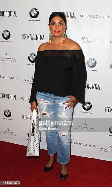Rachel Roy attends the Women of Influence issue celebration presented by Los Angeles Confidential magazine at Four Seasons Hotel Los Angeles at...