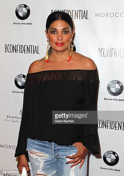 Rachel Roy attends the 'Women of Influence' issue celebration presented by Los Angeles Confidential magazine at Four Seasons Hotel Los Angeles at...