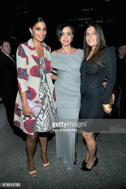 Rachel Roy Drena De Niro and Claudine DeMatos attend VANITY FAIR TRIBECA FILM FESTIVAL Opening Night Dinner Hosted by ROBERT DE NIRO GRAYDON CARTER...