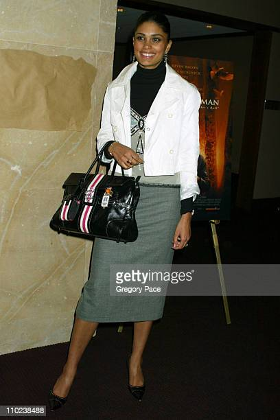 """Rachel Roy during """"The Woodsman"""" New York Cit y Premiere - Inside Arrivals at The Skirball Center in New York City, New York, United States."""