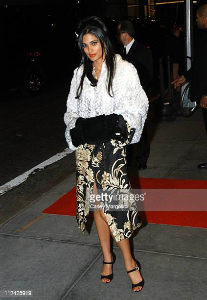Rachel Roy during Usher's 26th Birthday Party at Rainbow Room in New York City New York United States
