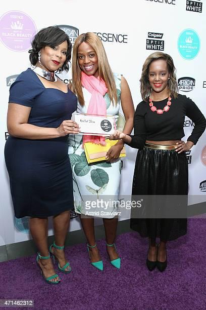 Rachel Shim Daisy Lewellyn and Beauty Editor of Essence Magazine Nykia Spradley attend Essence's Best in Black Beauty Awards sponsored by African...