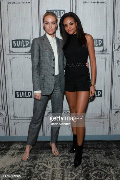 Rachel Skarsten and Meagan Tandy at Build Studio on October 7 2019 in New York City