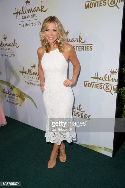 Rachel Skarsten attend the 2017 Summer TCA TourHallmark Channel And Hallmark Movies And Mysteries at a private residence on July 27 2017 in Beverly...