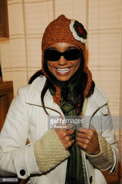 Rachel Smith visits the Hollywood Life House on January 19 2008 in Park City Utah