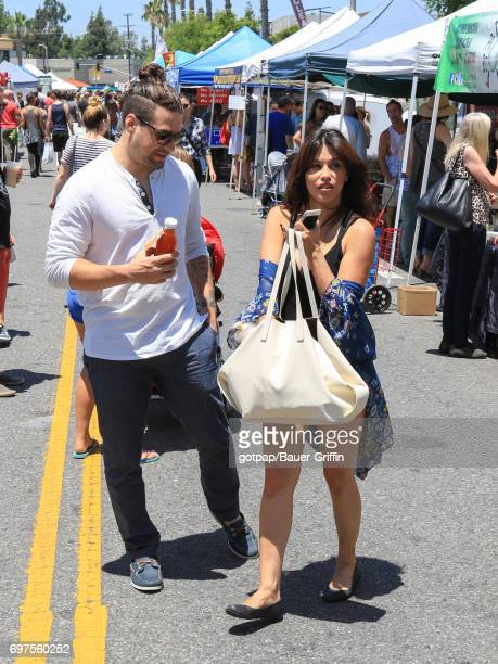 Rachel Sterling and Aaron Nardi are seen on June 18 2017 in Los Angeles California