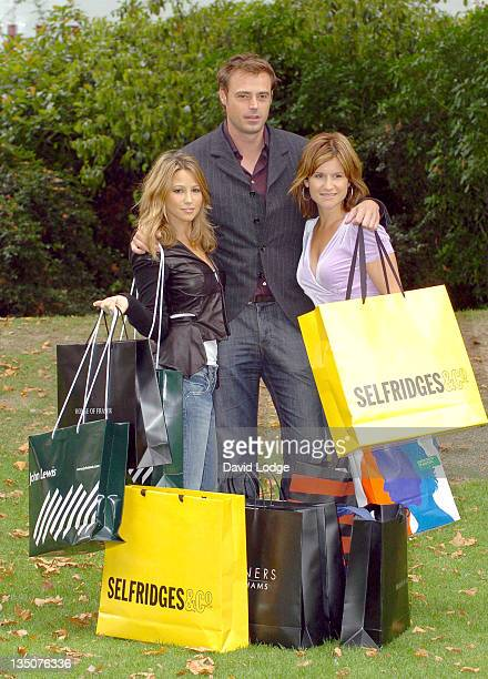 Rachel Stevens and Jamie Theakston and Harriet Scott