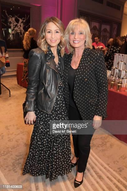 Rachel Stevens and mother Linda Stevens attend the Rainbow Trust Children's Charity's annual 'Trust In Fashion' fundraiser at The Grosvenor House...