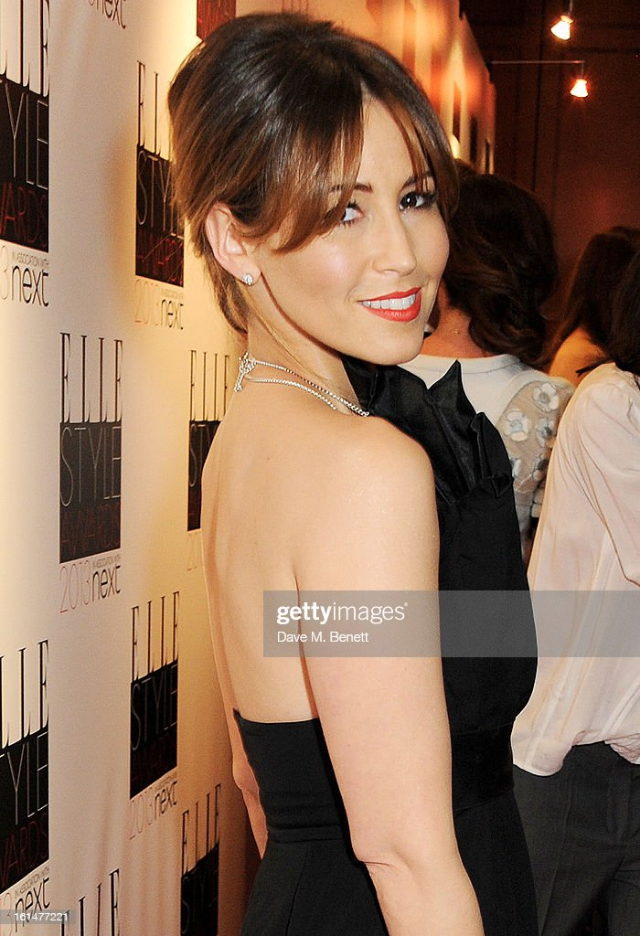 Rachel Stevens arrives at the Elle Style Awards at The Savoy Hotel on February 11, 2013 in London, England.