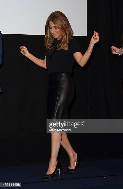 Rachel Stevens attends a press conference to announce new plans for S Club 7 at Ham Yard Hotel on November 17 2014 in London England