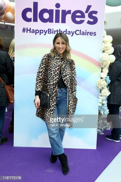 Rachel Stevens attends Claire's birthday celebrations featuring some of their favourite celebrity parents and influencers taking part in lots of fun...