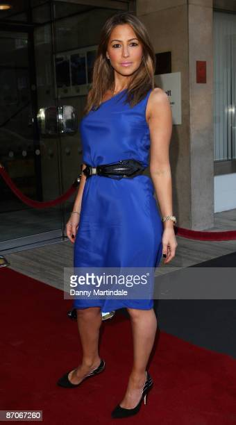 Rachel Stevens attends Inspirational woman of the year awards at the Marriott Hotel on May 11 2009 in London England