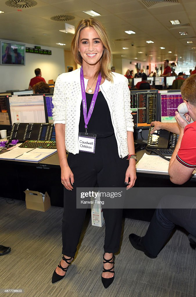 Rachel Stevens attends the annual BGC Global Charity Day at BGC Partners on September 11, 2015 in London, England.